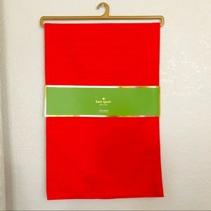 Kate Spade Red Christmas Running Table
